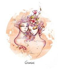 双子座的女人知道如何发挥她迷人的天性,从第一天起,她的行为就